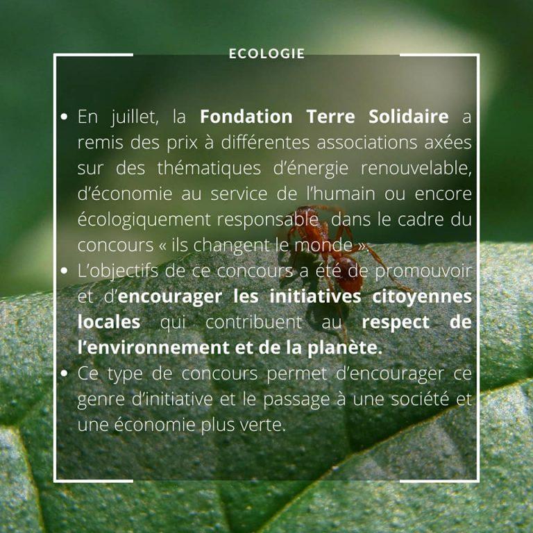 Ecologie 24.07.2020