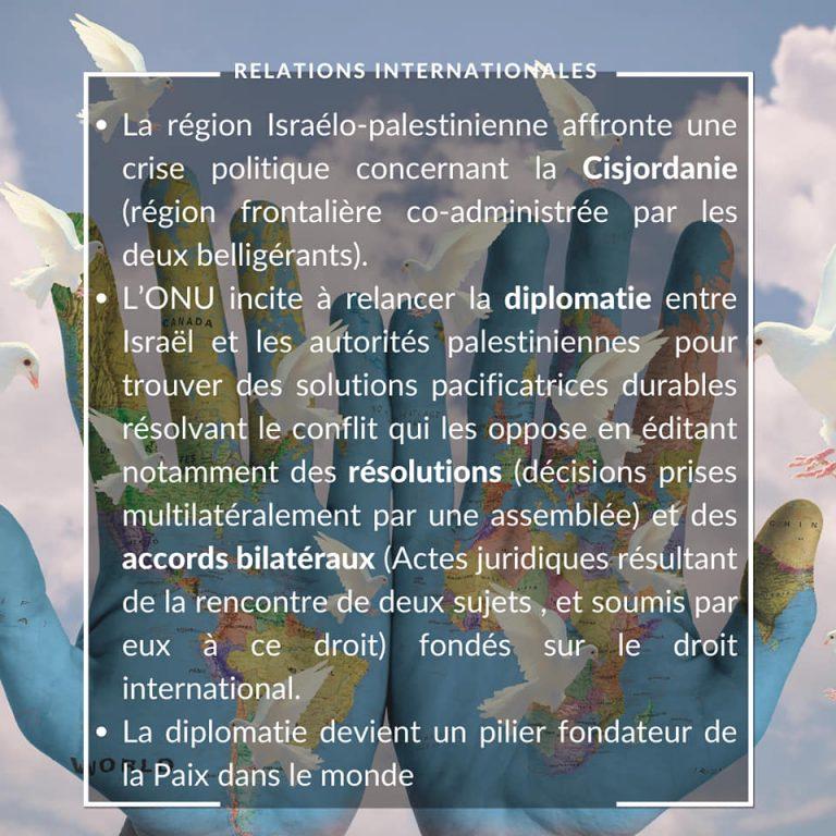 Relations internationales 24.07.2020