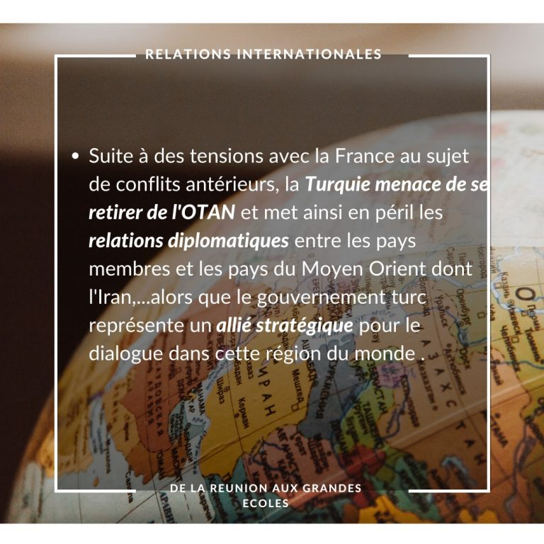Relations internationales 17.07.2020