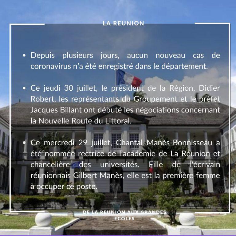 La Réunion: https://www.zinfos974.com/Chantal-Manes-Bonnisseau-une-Reunionnaise-rectrice-de-l-academie-de-La-Reunion_a158077.html?fbclid=IwAR0SdkDph0QEBNUqsaM1BdAOcuxLz5XjhGbPzwyo12gUaJXhwCzK6QGQf2o