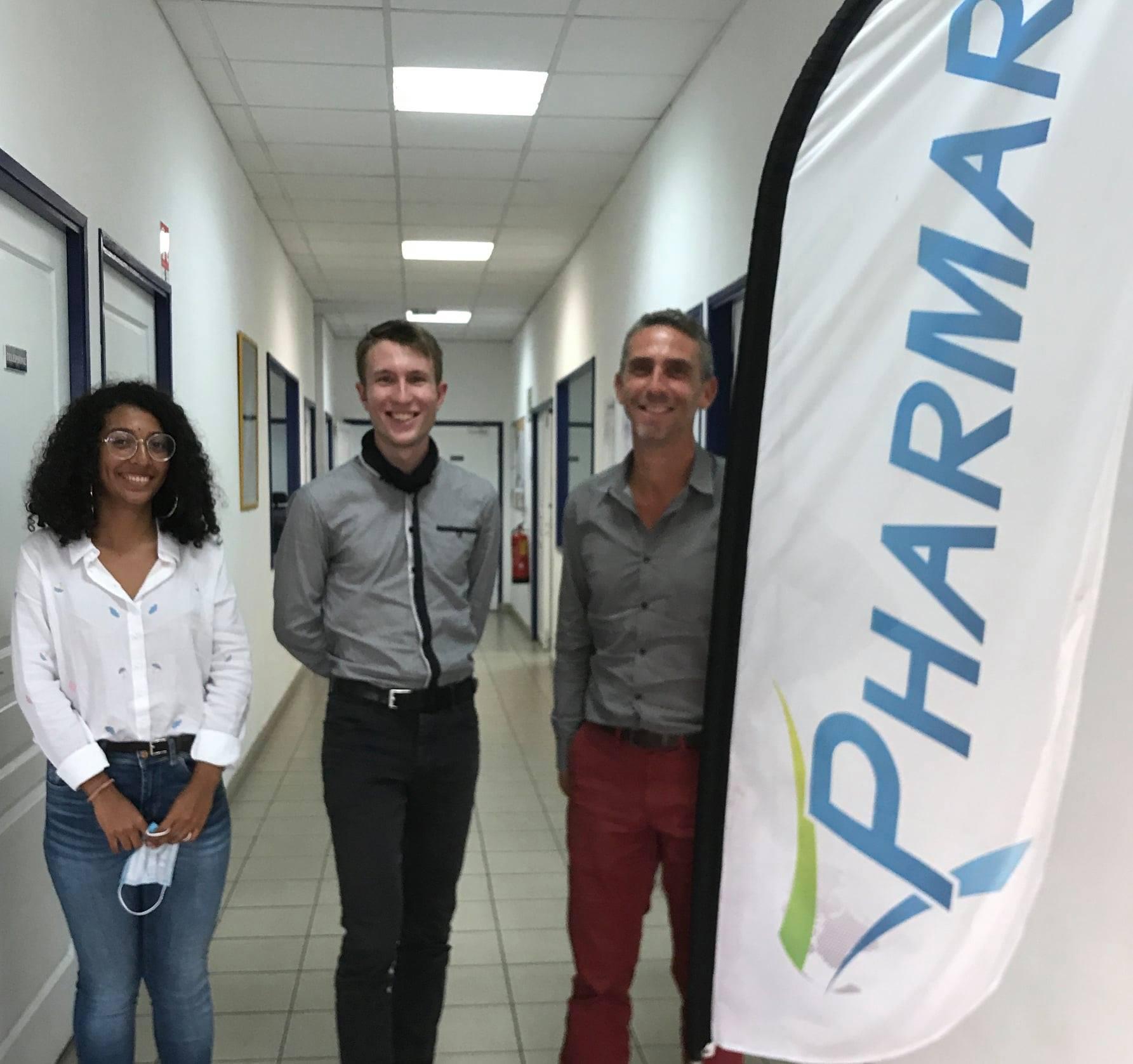 DRGE et l'entreprise PHARMAR s'engagent pour la jeunesse réunionnaise