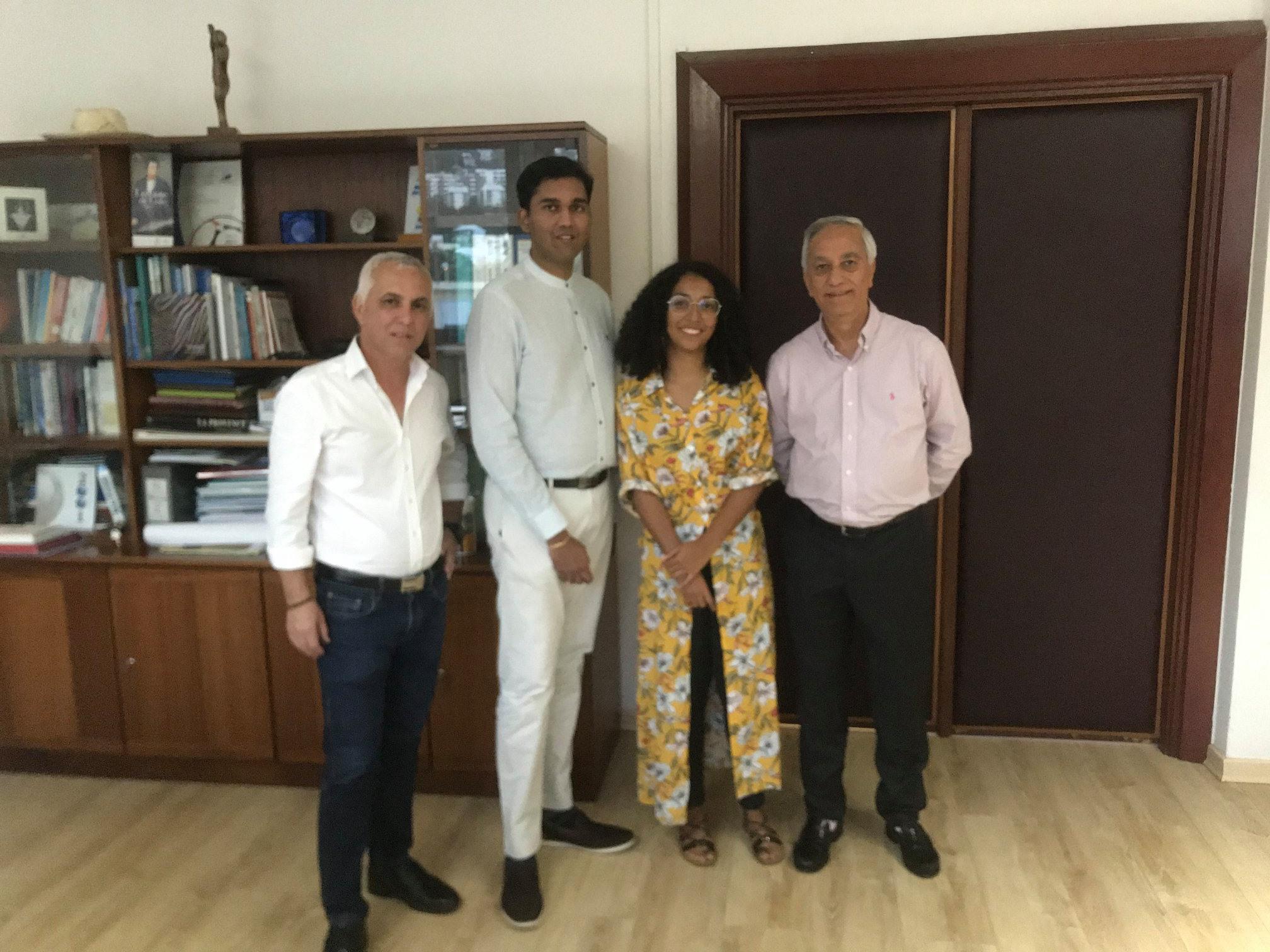 Rencontre avec le Département de La Réunion