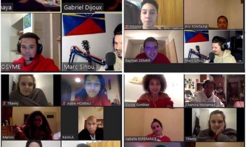 Kasaz lo kwiz : pour lutter contre l'isolement et la morosité en Hexagone, DRGE organise un premier apéro rényoné connecté avec d'autres associations
